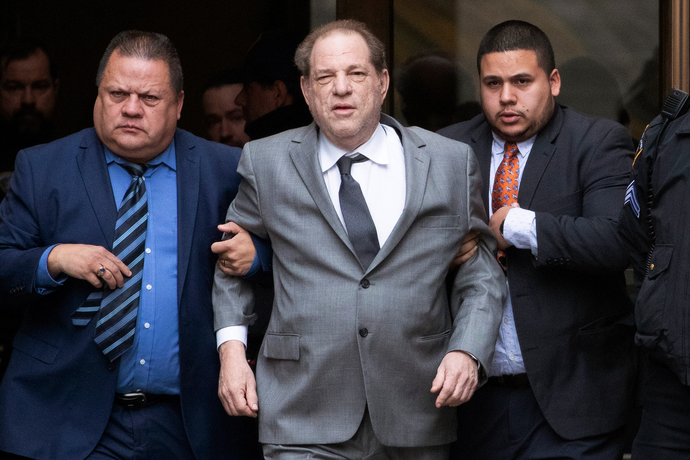 Harvey Weinstein, le 6 décembre 2019.