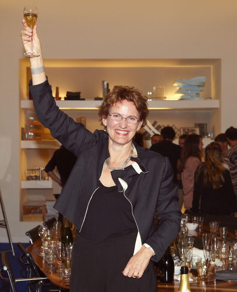Delft, 17 september. Francine Houben heeft net gehoord dat ze de NYPL mag renoveren. Beeld Daniel Cohen