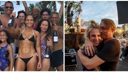 SHOWBITS. Strakke J.Lo viert haar 49ste verjaardag en Regi toont zijn liefde voor Elke