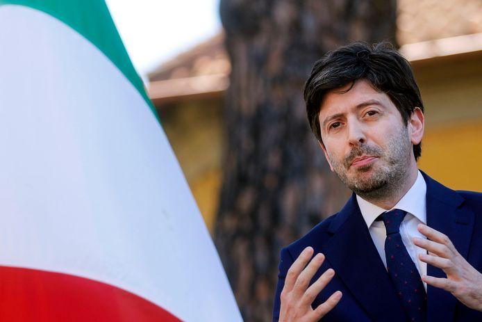 Roberto Speranza, le ministre italien de la Santé