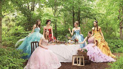 Disney lanceert nu ook bruidsjurken voor het ultieme sprookjeshuwelijk