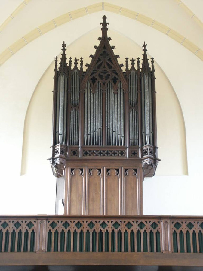 Het Macharense Smits-orgel.