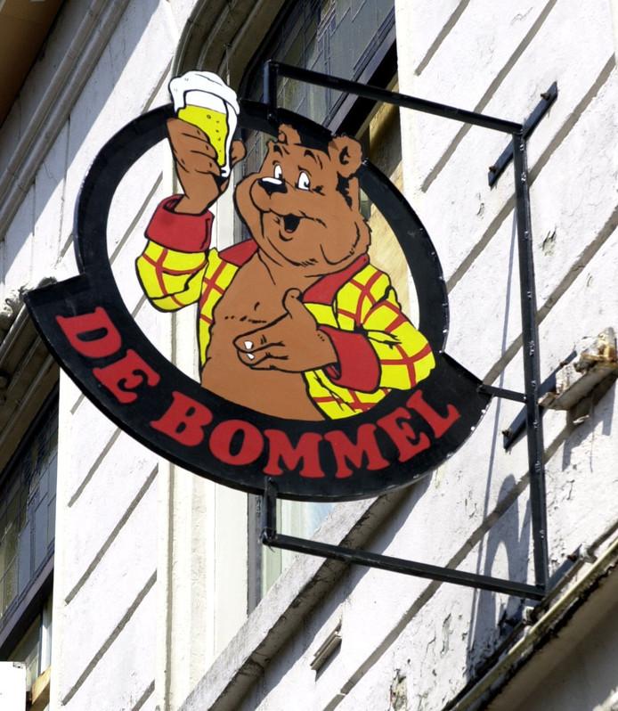 Uithangbord Café De Bommel
