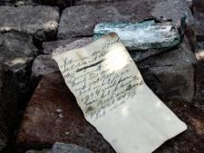 Briefje uit 1904 opgedoken bij werkzaamheden aan hotel De Brabantse Kluis