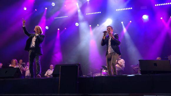 Charles Van Domburg en Wim Soetaer van de Soulbrothers