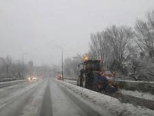 N344 dicht: Meest risicovolle weg bij sneeuw