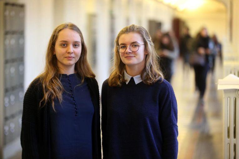 Kim Timmermans en Charlotte Monbailleu van het SASK in Brugge zijn allebei vertrouwenspersonen.