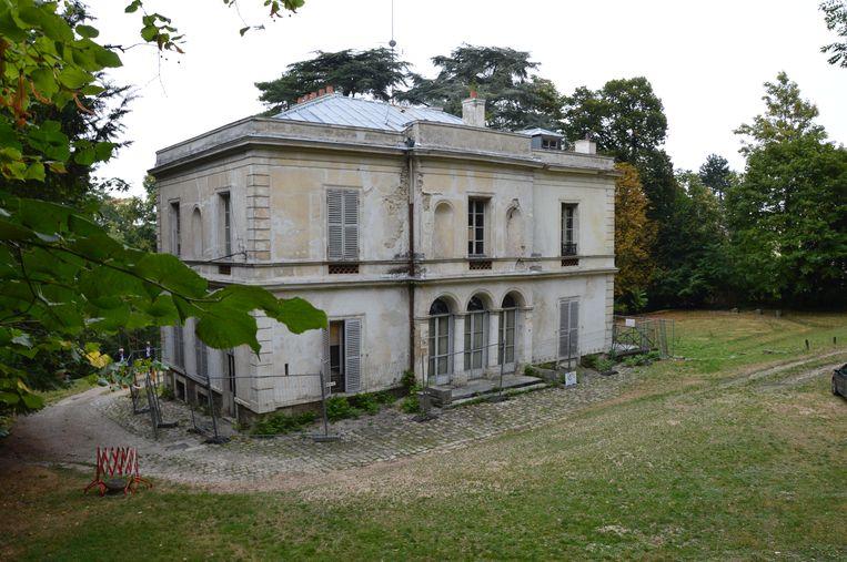 Villa Viardot, nu nog een bouwval, straks dankzij een loterij wellicht een Europees centrum voor muziek. Beeld Kleis Jager