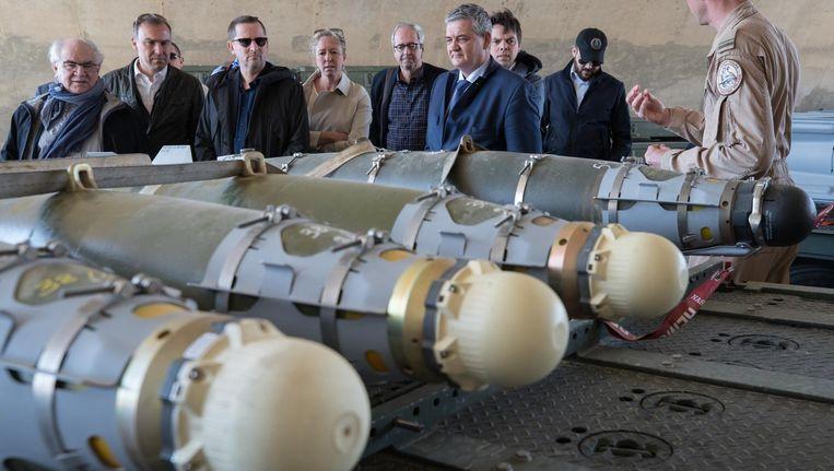 Minister van Defensie Steven Vandeput bracht vorige week een bezoek aan de Belgische operatie tegen IS op een luchtmachtbasis in Jordanië.