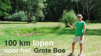 Frie (60) liep honderd kilometer bij elkaar voor Grote Bos en zamelde zo al meer dan 2.000 euro in