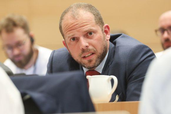 Kamerlid Theo Francken (N-VA).