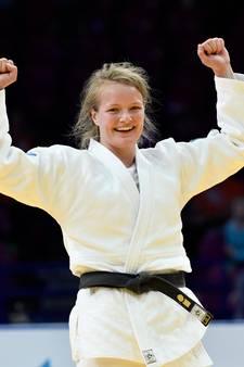 Eerste goud voor Heeswijkse judoka Sanne Van Dijke op Grand Slam