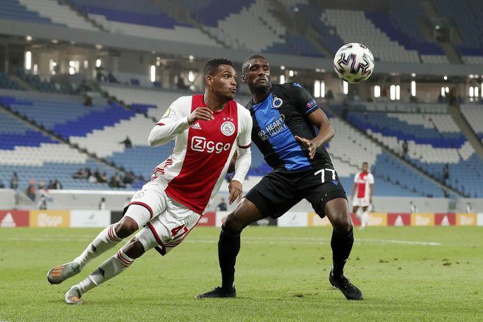 Een beeld uit de oefenmatch tussen Ajax en Club Brugge van vorig jaar.