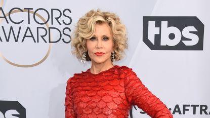 Jane Fonda zet iconische workout op TikTok