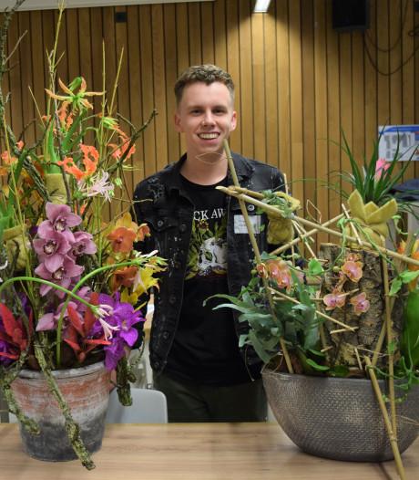 Student Velp finalist bij Nederlands kampioenschap bloembinden