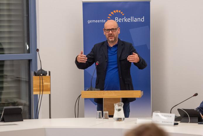 GroenLinks-fractievoorzitter Leo Morren.