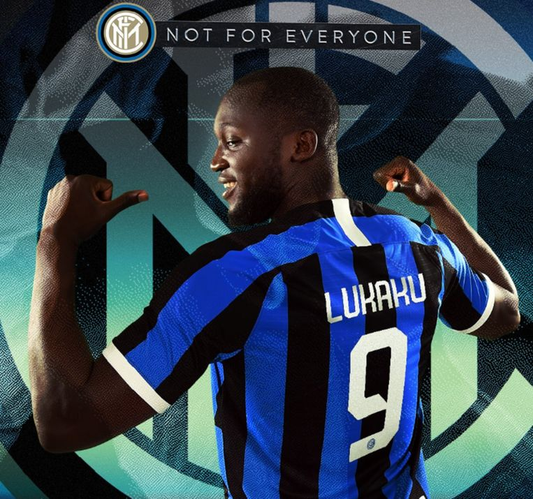 Romelu Lukaku krijgt het nummer 9 bij Inter.