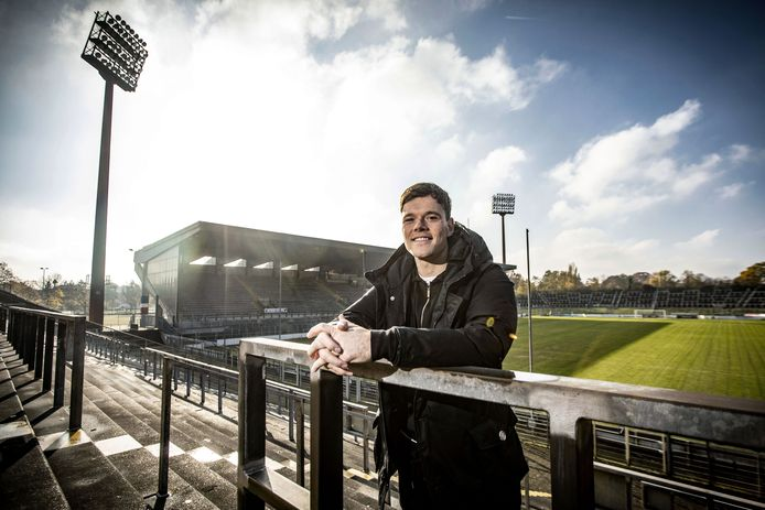 Tom Boere in het Grotenburg-stadion in Krefeld.