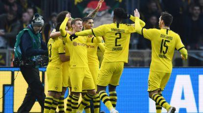 Dortmund wint van Hertha na doelpunt Hazard, Lukebakio met assist
