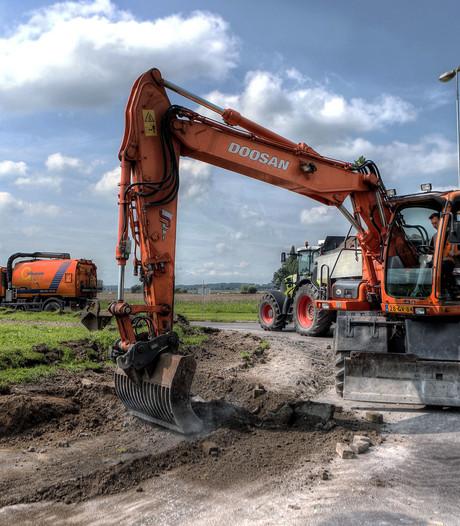 Wegwerkzaamheden N259 tussen Dinteloord en Steenbergen zijn begonnen