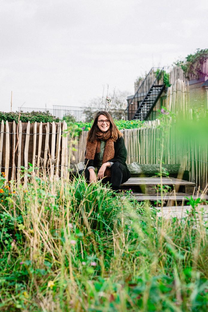 Adje Van Oekelen op het dak van PAKT