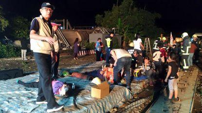 Minstens 22 doden bij treinongeluk in Taiwan