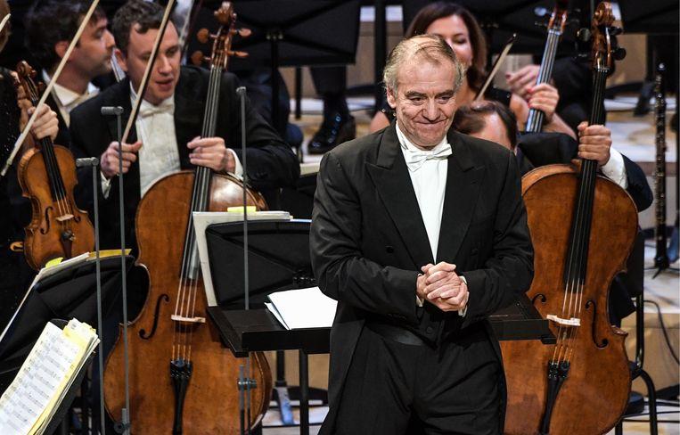 Valery Gergiev bij een optreden in Moskou in 2018.  Beeld Alexei Nikolsky/TASS
