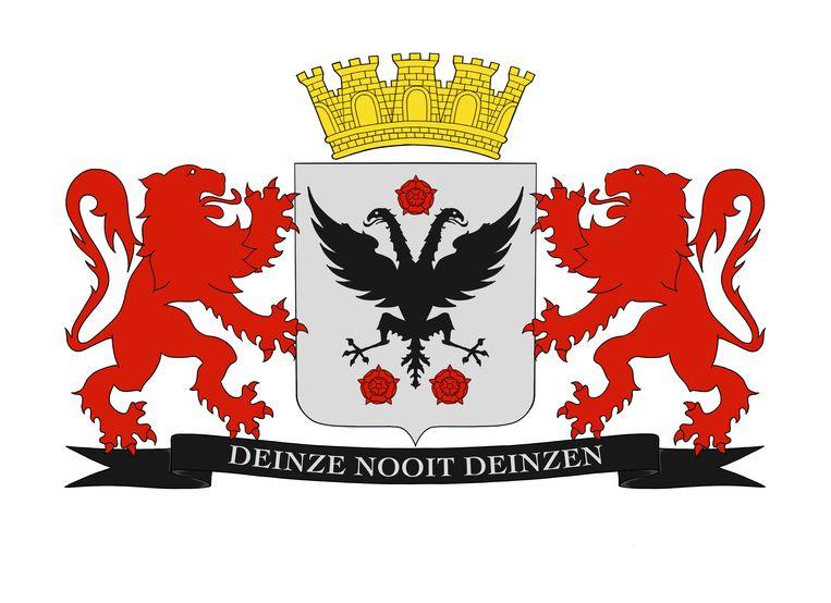 Het wapenschild van Deinze.