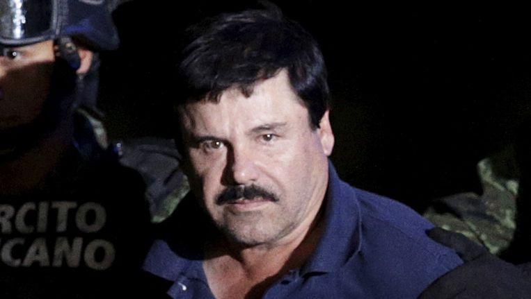 El Chapo bij zijn arrestatie