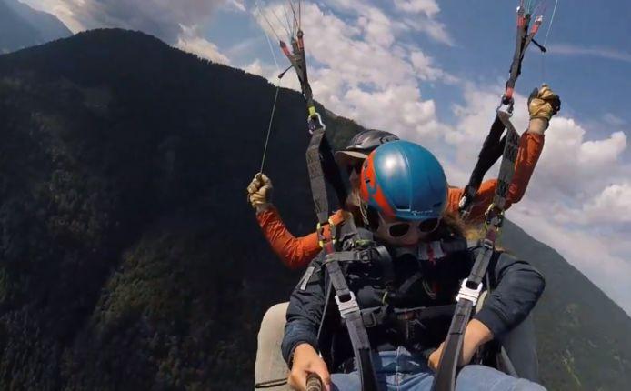 Elke Verhoeven (13) verloor telefoon op 2500 meter hoogte boven Oostenrijk.