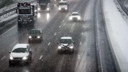 Code geel: opnieuw sneeuw in Vlaanderen, maar ochtendspits verliep normaal