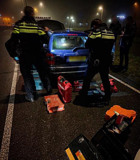 Politie zoekt de eigenaar van in Zwijndrecht gevonden gereedschap