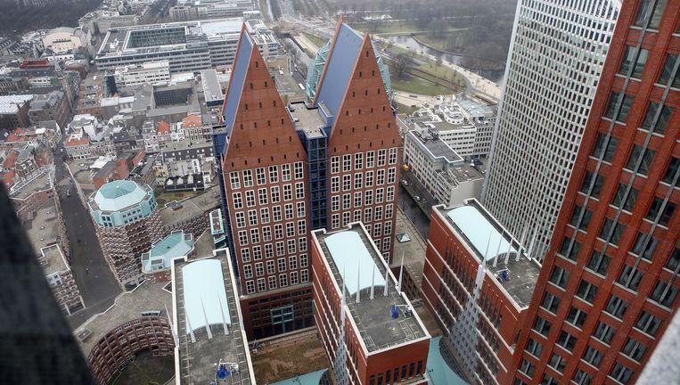 Het ministerie van VWS in Den Haag. Beeld Wiebe Kiestra/Hollandse Hoogte