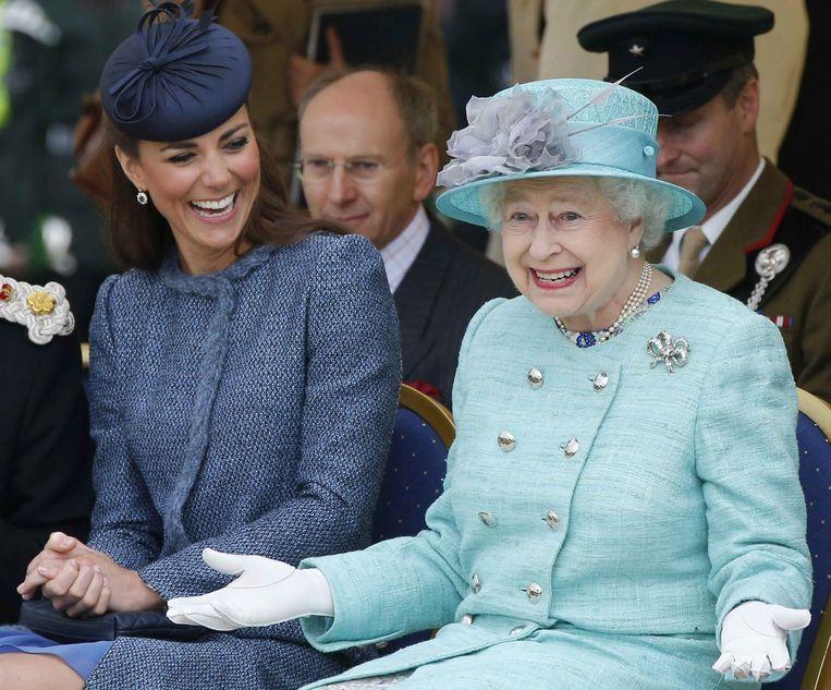 Krug-lover: Koningin Elizabeth. Beeld EPA
