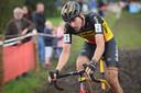 Toon Aerts in actie tijdens de Polderscross van vorig jaar.