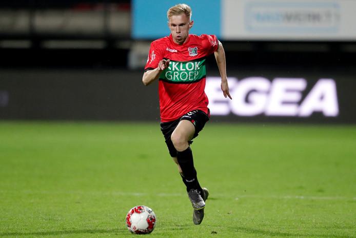 Jellert van Landschoot, de enige Belg in de selectie van NEC, speelt donderdag in Genk op vertrouwde bodem.
