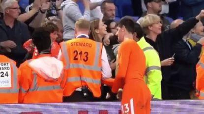 Met Chelsea pijnlijk onderuit tegen de allerlaatste, en tóch werkte Courtois zich nog wat dieper in harten van de fans