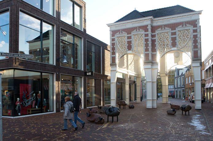 De Kreelpoort in Veenendaal is een van de gebouwen die oranje aangestraald gaan worden.