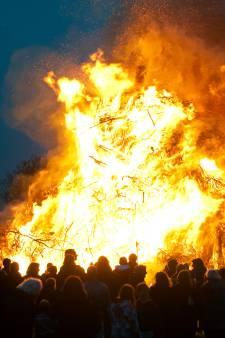 Paasvuur in Borne gaat door: 'Het is een prachtige traditie'