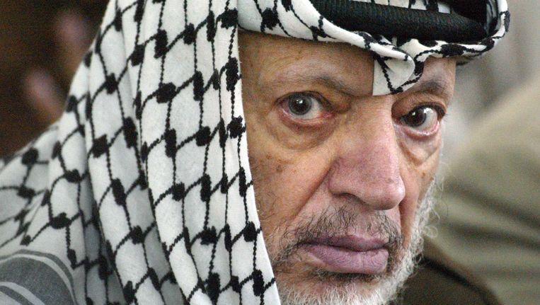 Yasser Arafat Beeld AFP