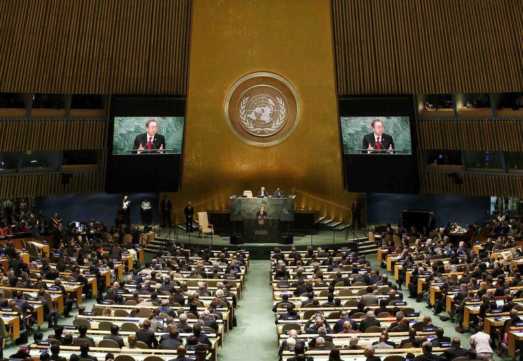 Toespraak Ban Ki-moon Beeld reuters