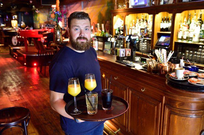 Roy van Wensem, eigenaar cafe Swing in Gouda.