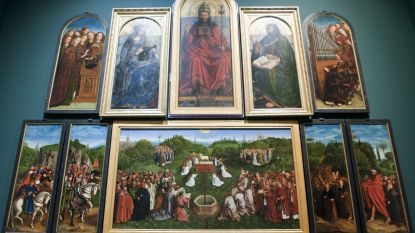 Ligt het gestolen paneel van het 'Lam Gods' onder de Gentse Kalandeberg?