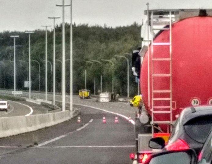 L'accident est survenu après le viaduc