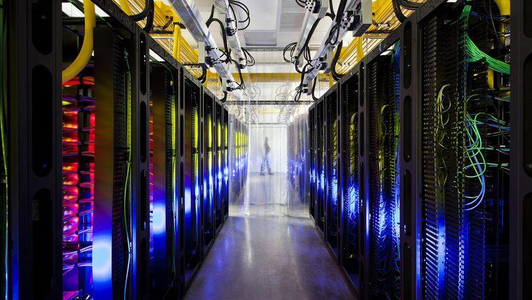 Een datacenter in Council Bluffs, Iowa. Beeld ap