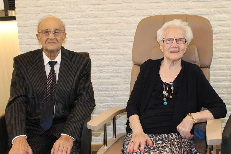 Aimé Bruggeman en Julia Gijssels.