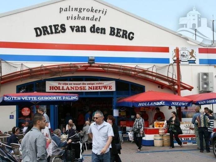 De huidige winkel van Dries van den Berg, aan de Burgemeester de Meesterstraat.