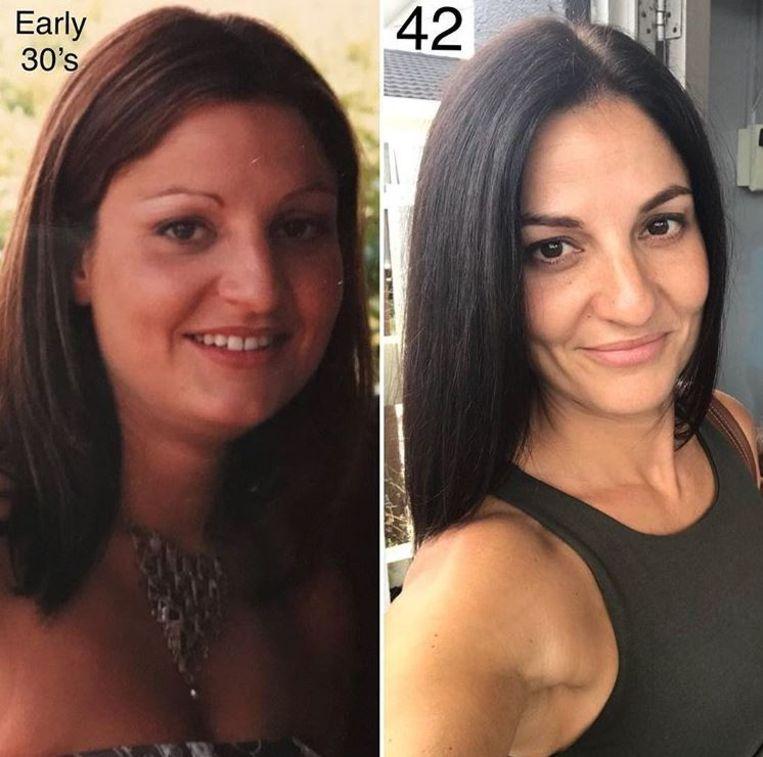 Op haar 42ste ziet Joanne er jonger uit dan toen ze nog begin dertig was.