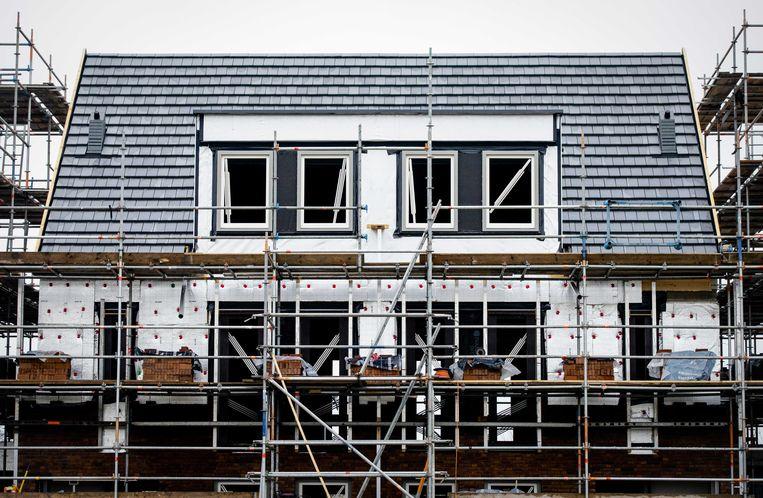 Een nieuwbouwwoning in de wijk Vathorst in Amersfoort. Beeld ANP