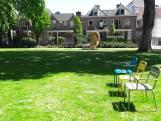 Eerste losse stoelen staan in park Den Bosch: 'Elegant idee, maar vraag blijft of stoelen het overleven'